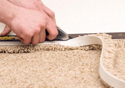 Installation carpet