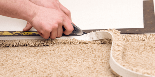 Installation carpet